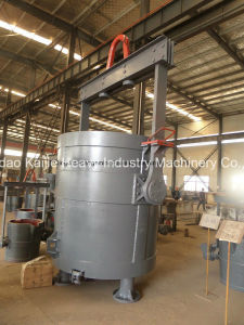 Rotating Pouring Steel Ladle/ Bottom Pouring Steel Ladle /Slide Gate Type/Foundry Casting pictures & photos