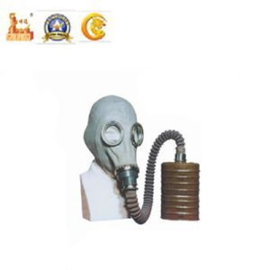 Police Equipment Gas Mask with Canister for Military pictures & photos