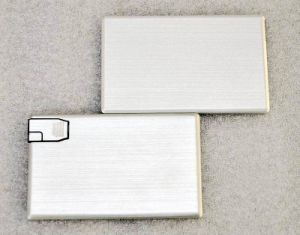 Aluminum Card USB with Customied Logo pictures & photos