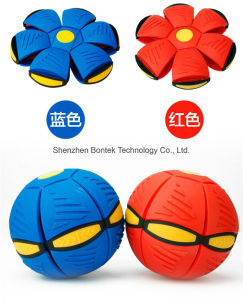 New Hot LED Light Flat Ball Disc pictures & photos