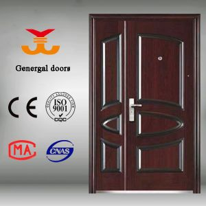 Entry Security Steel Doors Made in China pictures & photos