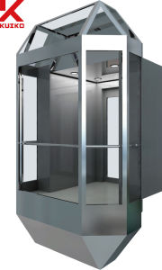 Kjx Sightseeing Elevator with Transparent Ceiling pictures & photos
