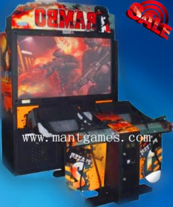 Rambo Shooting Arcade Machine Park Equipment pictures & photos