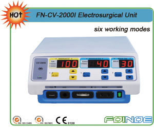 Fn-2000I CE Approved Surgical Electrosurgical Cautery Unit pictures & photos