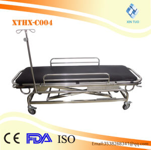 Hospital Operation Connecting Electric Adjustable Patient Hydraulic Ambulance Trolley pictures & photos