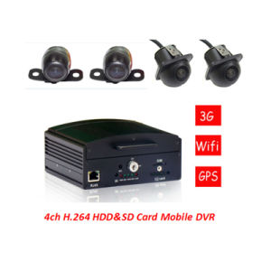 4G HDD&SD Mobile Car DVR and Mini Car Camera for Car Safety pictures & photos