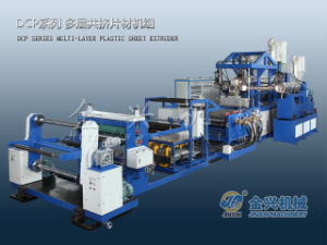Plastic Multi Layers Sheet Extruder (DCP105/75-800) pictures & photos