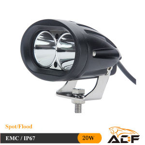 Blue Ray CREE 20W LED Warning Work Light LED Car Light for Forklift Excavator