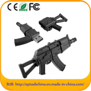 Customized PVC Gun Shape USB Flash Drive (EG641) pictures & photos