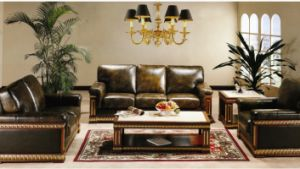 Hotel Furniture/Luxury Hotel Sofa/Luxury Hotel Sitting Room Sofa/European Hotel Sofa (GL-022) pictures & photos
