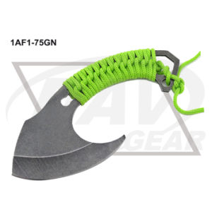 "7.5"" Overall Stone Washed Axe with Green Nylon Rope: 1af1-75gn pictures & photos"
