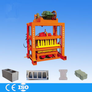 Manual Building Block Machine for Hollow Block, Solid Brick, Paver and Kerb in Machinery pictures & photos