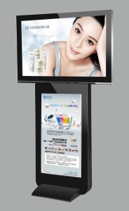 42inch & 55inch Doble Sides HD LCD Ad Display pictures & photos