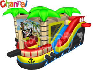 Pirateship Bouncer Combo/Inflatable Castle with Slide Bb149 pictures & photos