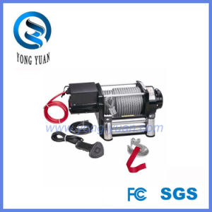 up-Down /Sliding Ring Gear/Synthetic Rope /Wire Rope DC 12V Heavy Duty Electric Winch (DH17000K) pictures & photos