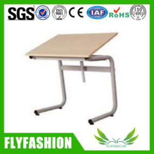 Metal Frame and Wooden Board Drawing Table (CT-28) pictures & photos