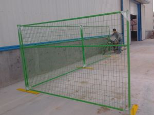 """6FT X 10FT Weld Mesh 2""""X2′electrostatic Powder Coated Temporary Construction Fence Panels pictures & photos"""