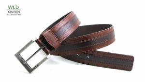 Classic and Basic Man Belt with Split Leather Linning M684 pictures & photos