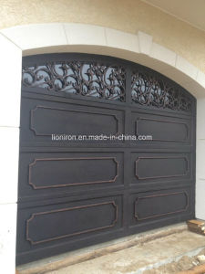 Anti-Rust Luxury Design Iron Security Garage Doors pictures & photos