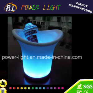 RGB Color Changing Night Club Illuminated LED Wine Ice Bucket pictures & photos