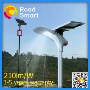 Solar Street Lamp with Adjustable Angle of Solar Panel on Two Grade Highway pictures & photos