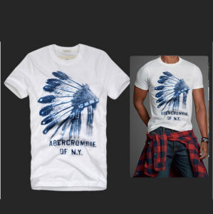 Fashion Brief Floral Print T Shirt with Logo pictures & photos