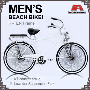 140PCS Spoke 26 Inch Beach Cruiser Bike for Men (ARS-2681S-2) pictures & photos