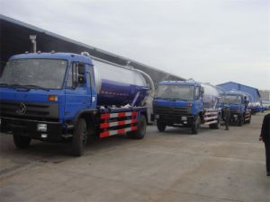 Dongfeng 190HP 10m3 New Sewage Suction Truck (CLW5140GXWT3) pictures & photos