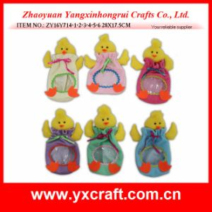 Easter Decoration (ZY16Y714-1-2-3-4-5-6) Chick Candy Bag Easter Best Selling Products pictures & photos