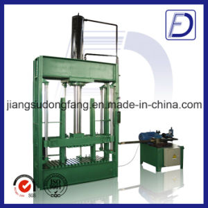Cotton Cardboard Plastic Straw Recycling Baler Machine for Sales pictures & photos