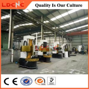 Chinese Single Column Manual Universal Vertical Lathe Machine for Sale pictures & photos
