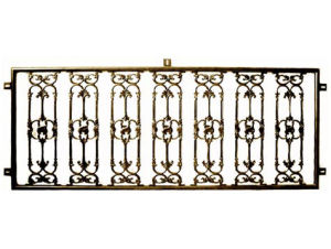 Metal Decorative Powder Coated Metal Fence