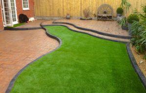 Fancy Door Mats and Artificial Grass