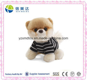 Super Cute Soft Plush Dog Stuffed Toy in T-Shirt pictures & photos