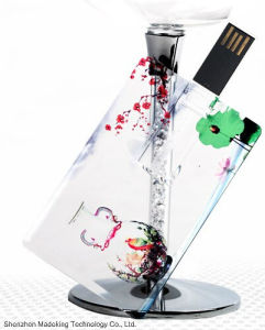 Most Popular Plastic Card USB Flash Drive with High Quality pictures & photos