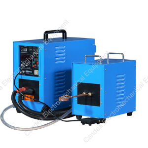 Electromagnetic Copper Tube Welding High Frequency Induction Heating Machine Hf-15kw pictures & photos