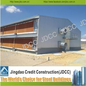 High Quality Galvanization Light Steel Structure Chicken Farm Building pictures & photos