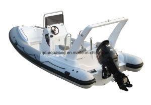 Aqualand 21feet 6.5m Rib Motor Boat/Rigid Inflatable Boat (RIB650C) pictures & photos
