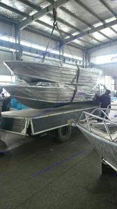 Aluminium Floor Boat, Working Boat, Rescue Boat pictures & photos