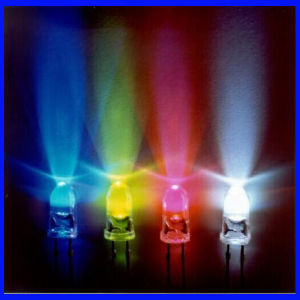 Practical Straw Colorful Ultra Super Bright 5mm LED Diode