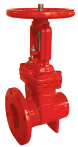 UL/FM 200psi-OS&Y Type Flanged Grooved End Gate Valve