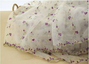Beautiful Fresh Style Embroidery Lace Fabric for Girls′ Clothes pictures & photos