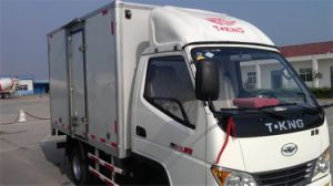 Tking 4X2 2ton Light Box Truck for Sale pictures & photos