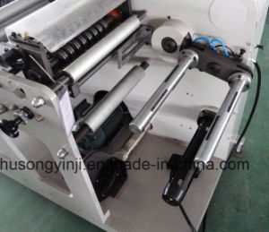 Rotary Die Cutting Machine with Turret Rewinder pictures & photos