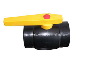 High Quality PE Pipe Fittings Ball Valve pictures & photos