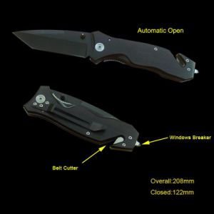 Spring Assisted Survival Knife (#3332AT) pictures & photos