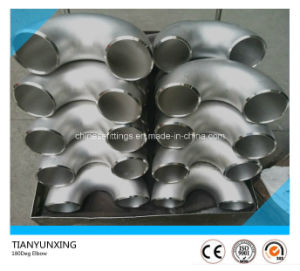 316L Seamless U 180degree Stainless Steel Elbow pictures & photos