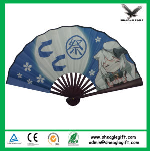 Custom Printed Tyvek Foldable Fan pictures & photos