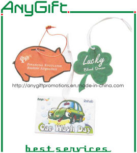 Car Air Freshener with Customized Shape and Logo pictures & photos