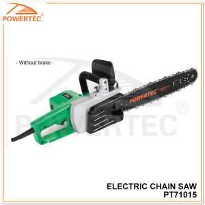 "Powertec 1300W 16"" Electric Cutting Wood Chain Saw (PT71015) pictures & photos"